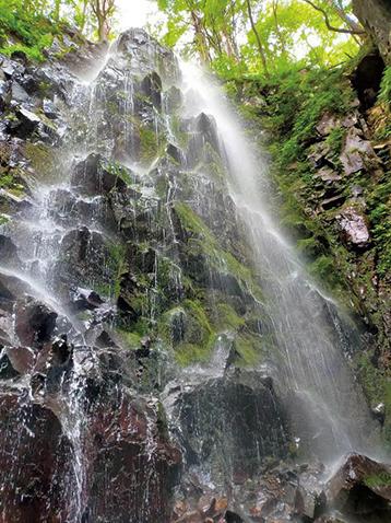 〈大仙市〉夏知らずの滝▷清涼感を感じてリフレッシュしよう