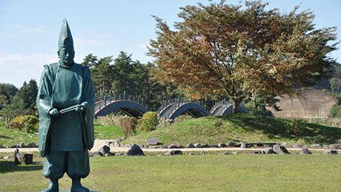 〈横手市〉平安の風わたる公園▷平安時代に思いを馳せて散歩を