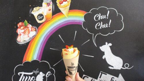 "café Two Go トゥーゴー▷クレープやブリトーなど""映える""メニューにワクワク"